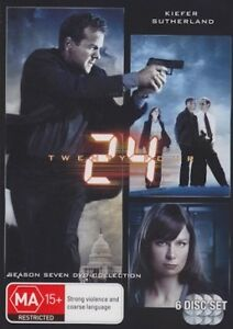 24-Twenty-Four-TV-Series-SEASON-7-NEW-SEALED-R4-DVD