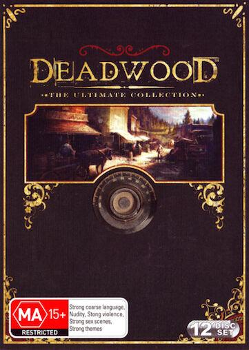 DEADWOOD Ultimate COLLECTION SEASON 1 2 3 : NEW DVD