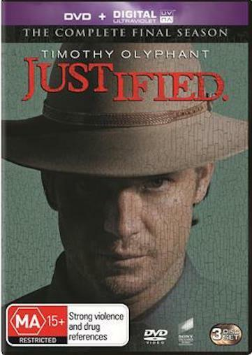 JUSTIFIED Season 6 : NEW DVD