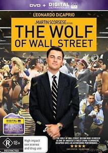 The Wolf Of Wall Street = NEW R4 DVD