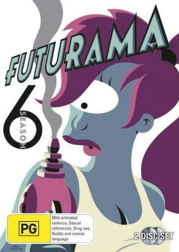FUTURAMA SEASON 6 : NEW DVD