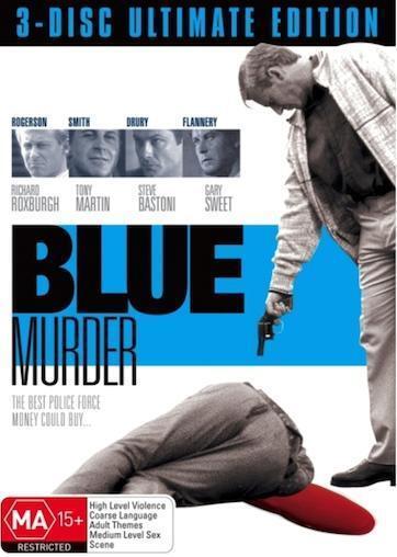 BLUE MURDER Mini-Series : NEW DVD