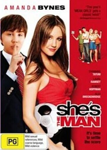 She's The MAN : NEW DVD
