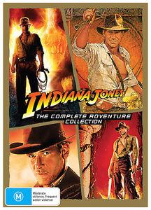 Indiana Jones COMPLETE Adventure 1 - 4 : NEW Slim DVD