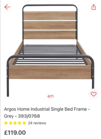 Industrial Single Bed Frame only £70. Real Bargains Clearance Outlet L