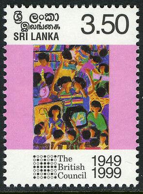 Sri Lanka 1252, MNH. British Council, 50th anniv., 1999