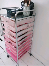 Make up or beauty storage drawers - With wheels - Collect ST5