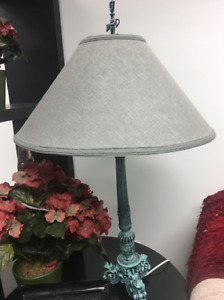 Antique Style Turquioise Lamp Base