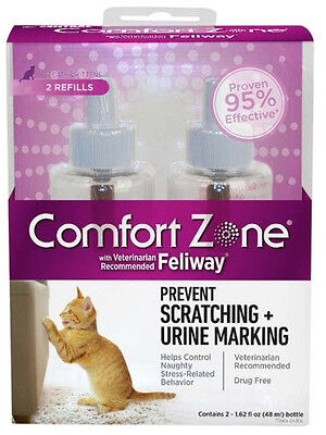 COMFORT ZONE WITH FELIWAY REFILL 2 PACK