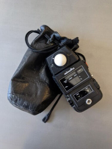 Minolta Flash Meter II Light Exposure Meter With Bag | Vintage | Ships from USA