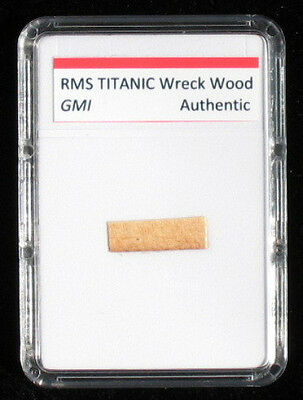Real Titanic Wood    Authentic White Star Line Artifact With Coa