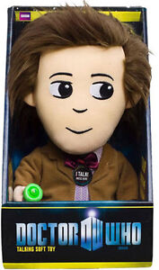 DOCTOR-WHO-11TH-DOCTOR-TALKING-PLUSH-MATT-SMITH-BRAND-NEW-GREAT-GIFT-SOFT-TOY