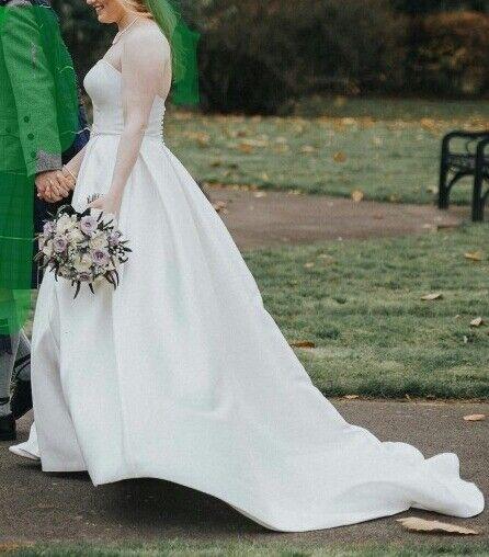 Ivory Wedding Dress by Anna Sorrano Size 12