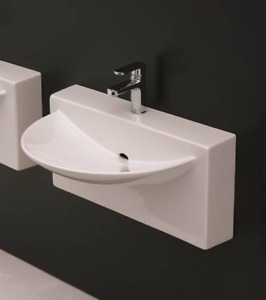 ARTCERAM wall mount MODERN BATHROOM sink *NEW*