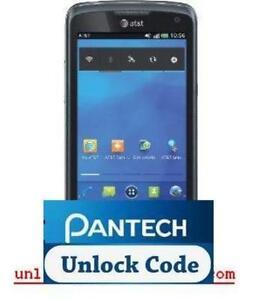 How to unlock Pantech Flex 8010 phone?