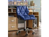 Geo Blue Computer/Office Chair (Brand New) in Box x 2 (RRP £54.99 each)