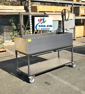 "NEW 48"" Outdoor BBQ Gas Propane Grill Oven Roaster Lamb Chicken Beef Fish OB48"