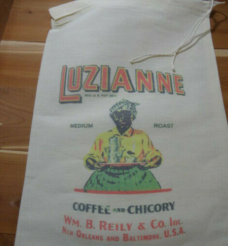 RL-06 Coffee Flour Bag Sack Feed Seed  Novelty Collectible Vintage Style