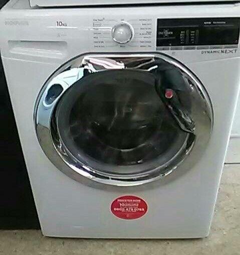 (ex display) Hoover Dynamic Next DXOA410C3 10Kg Washing Machine 1400 rpm - White