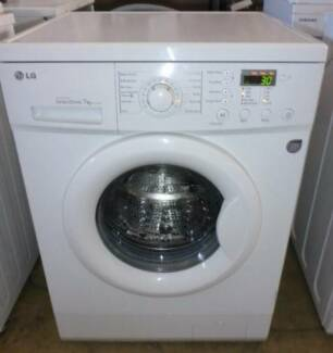 lg direct drive 7 kg front loading washing machine