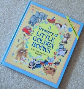^A TREASURY of LITTLE GOLDEN BOOKS^ 36 All Time Favorite Storie