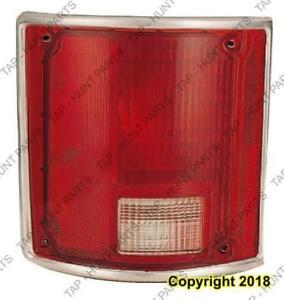 Tail Lamp Driver Side Chrome Trim Fleetside High Quality Chevrolet Pickup 1973-1990