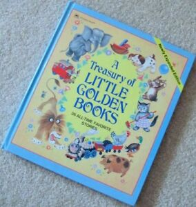 ^A TREASURY of LITTLE GOLDEN BOOKS^36 All Time Favorite Stories
