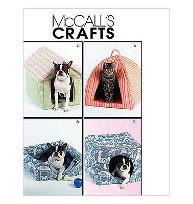 Sew & Make McCall's M5149 SEWING PATTERN - Dog Cat Pet HIDEAWAY PLAY HOUSES BEDS