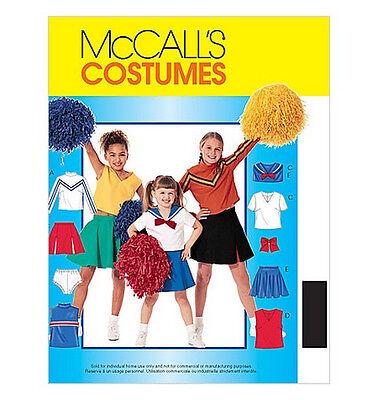 Sew & Make McCall's 3759 Vintage SEWING PATTERN - Girls CHEERLEADER COSTUMES