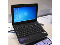 "SAMSUNG NB30 LAPTOP WIN 7 PRO . 10.1"" SCREEN with MS office"