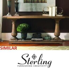 NEW SI SPRING CREEK CONSOLE TABLE - 130600718 - STERLING INDUSTRIES UNFINISHED