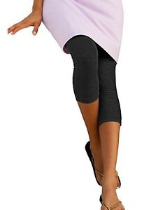 Hanes Stretch Cotton Women's Capri Leggings - style 23444