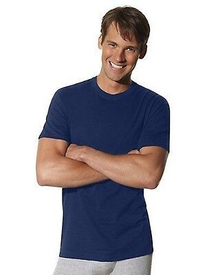 8 Pack Hanes Mens TAGLESS Crewneck T Shirt Undershirt Assorted Colors Best