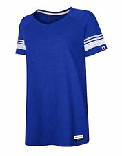 Champion Women's T-Shirt Tee Triblend Varsity Lightweight Originals Short Sleeve