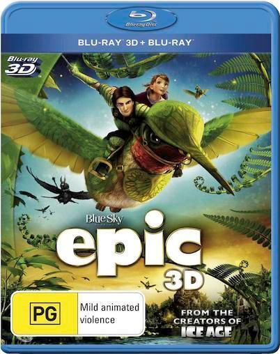 EPIC : Blu-Ray 3D NEW