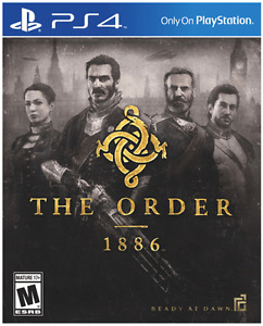 PS4 The Order : 1886