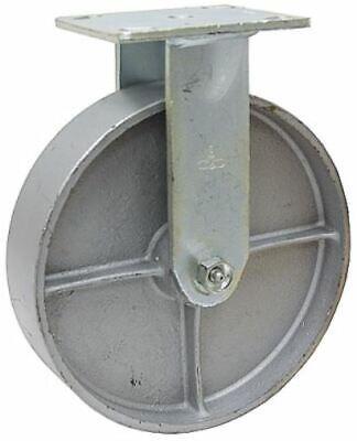 8 X 2 Rigid Steel Plate Caster 1-1782-r