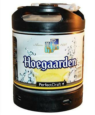BIRRA HOEGAARDEN FUSTO LT.6 PER IMPIANTO SPINA PERFECT FRAFT PHILIPS KIT4 FUSTI