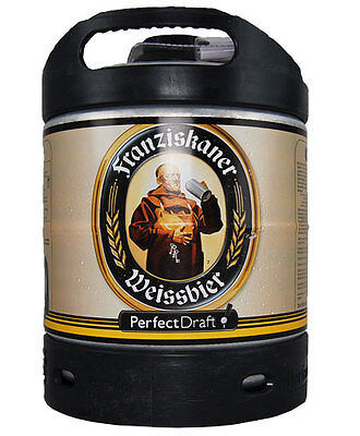 BIRRA FRANZISKAN FUSTO LT.6 PER IMPIANTO SPINA PERFECT FRAFT PHILIPS KIT 1 FUSTO
