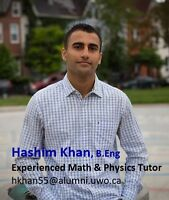 Experienced Math & Physics Tutor
