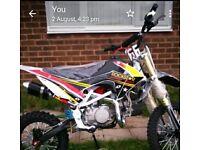 brand new 140 pitbike