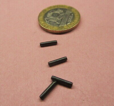 Steel Coiled Spring Pin, 1/16 Dia X 5/16 Length, 100 Pcs - $18.89