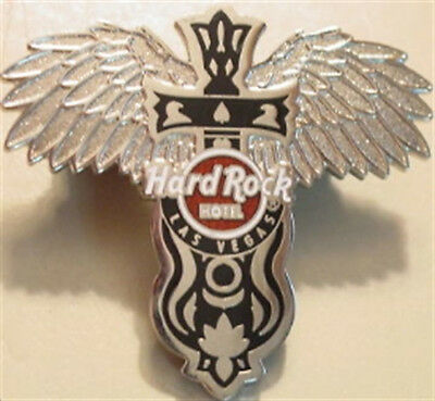 Hard Rock Hotel LAS VEGAS 2009 Cross ANGEL WINGS Guitar PIN #2 of 2 HRC #51005