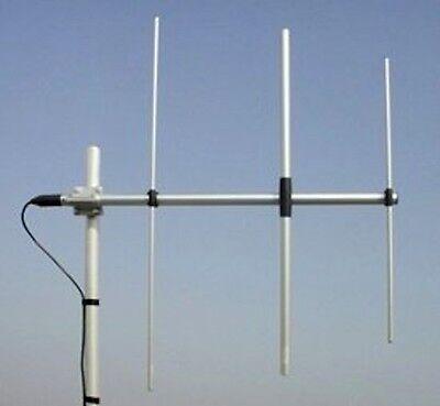 Sirio WY140-3N VHF 140-160 MHz 7dBi 3 Element Yagi Antenna, 200 Watts