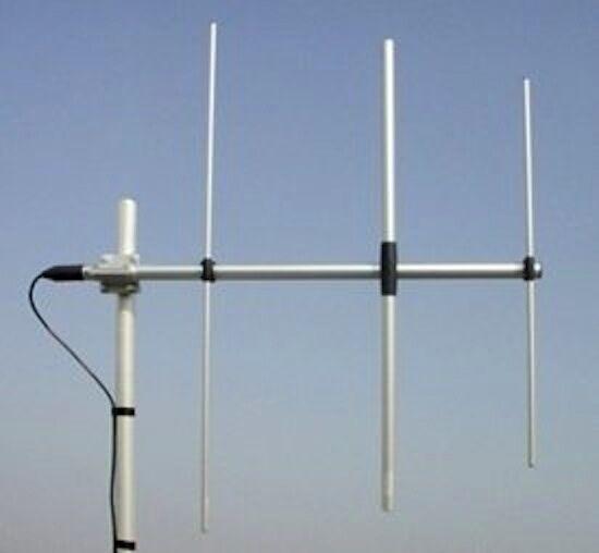 Sirio WY 108-3N 108-137 MHz 200Watts 7dBi Air Band 3 Elements Yagi Antenna