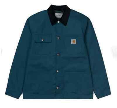 Chaqueta Carhartt Hombre Michigan Abrigo (Prussian Azul) Talla M