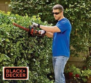 NEW BLACK DECKER HEDGE TRIMMER 20V LHT2220 239440696 LITHIUM 20V BATTERY AND CHARGER INCLUDED