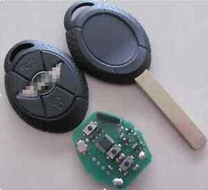 BMW MINI COOPER REMOTE KEY FOB CLICKER S R50 R53 complete key 433mhz