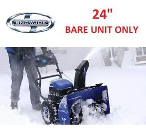 "NEW* SNOW JOE SNOW BLOWER 24"" iON24SB-CT 218587752 TWO STAGE 3 SPEED CORDLESS THROWER"