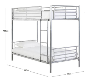 Bunkbed with mattress